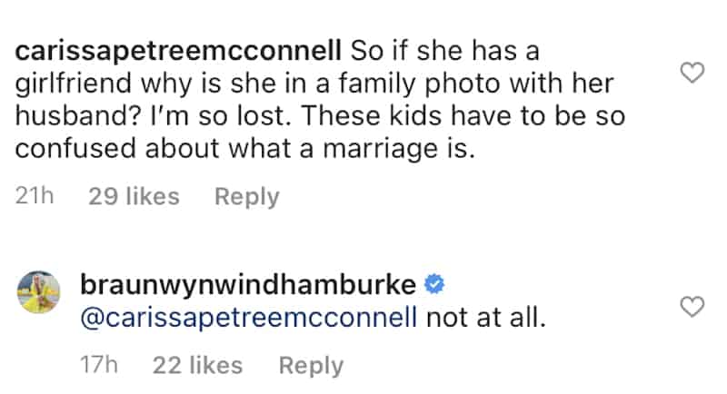 RHOC Braunwyn Windham-Burke Responds After Being Accused of Confusing Her Kids