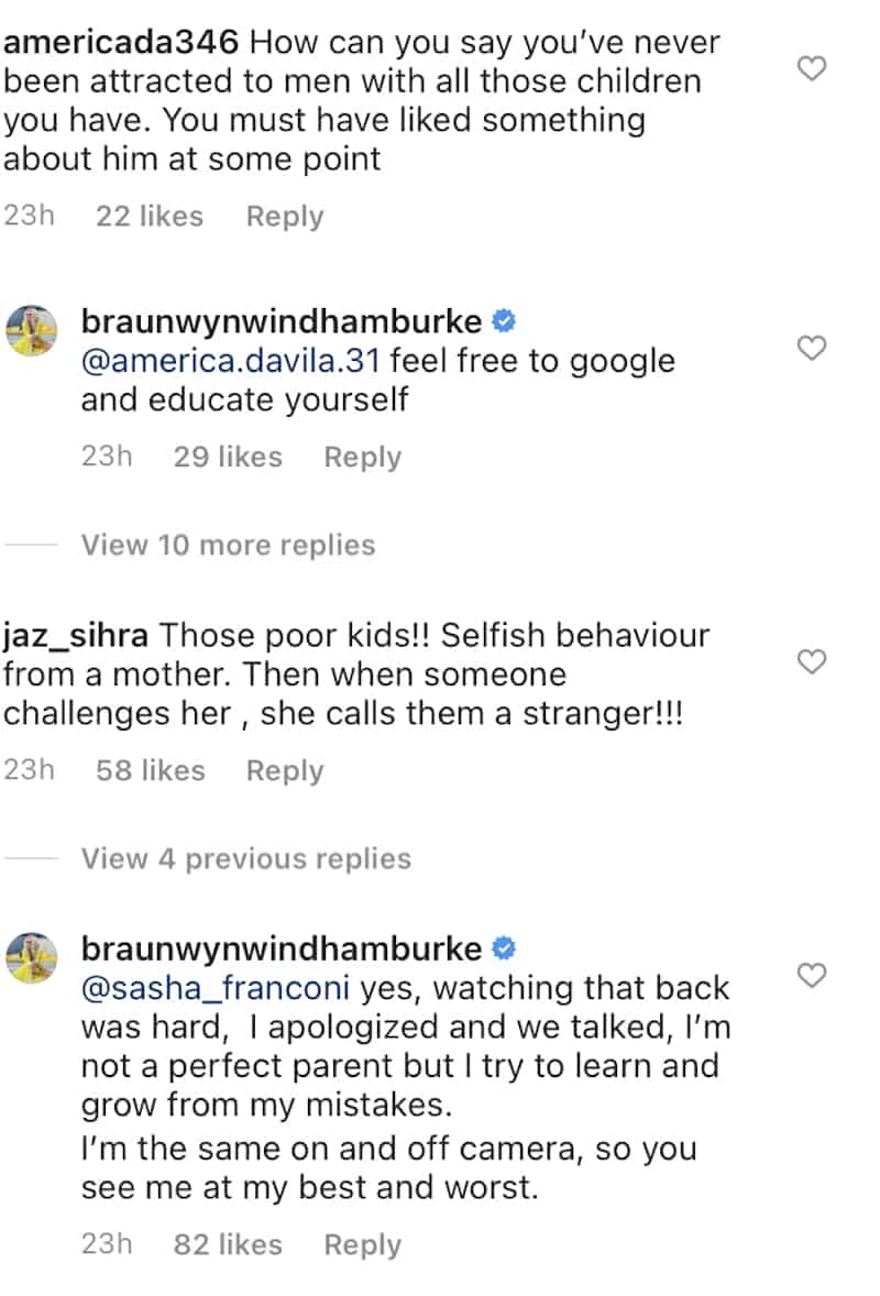 RHOC Braunwyn Windham-Burke Responds to Questions About Not Being Attracted to Men