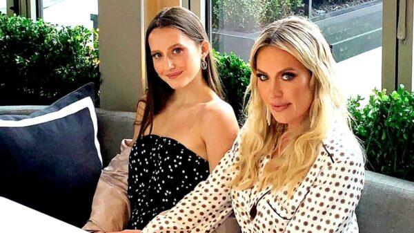 RHOC star Braunwyn Windham-Burke poses with daughter Rowan Burke