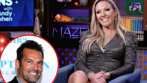"Braunwyn Windham-Burke Reveals Where She Met Her New Girlfriend, Talks The RHOC Reunion And Sean Burke's Dating Life, And Claims She Didn't Do Anything ""That Bad"" This Season"