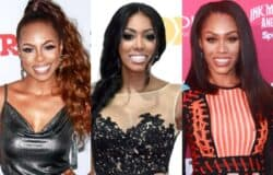 "Candiace Dillard Blasts RHOA's Porsha Williams For Defending Monique Samuels After RHOP Fight, Calls Them ""Two Wild People Defending Each Other"""