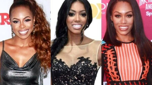 """Candiace Dillard-Bassett Blasts RHOA's Porsha Williams For Defending Monique Samuels After RHOP Fight, Calls Porsha Monique's """"Sidekick"""" and Says They're """"Two Wild People Defending Each Other"""""""