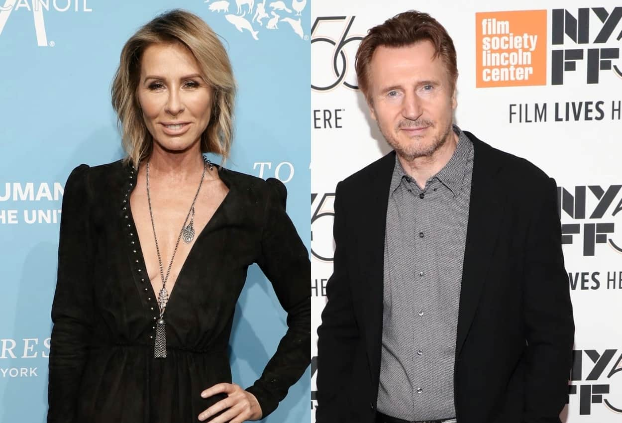 RHONY Alum Carole Radziwill Dishes on Kissing Liam Neeson at Andy Cohen's Christmas Party, Reveals if She Ever Dated Actor