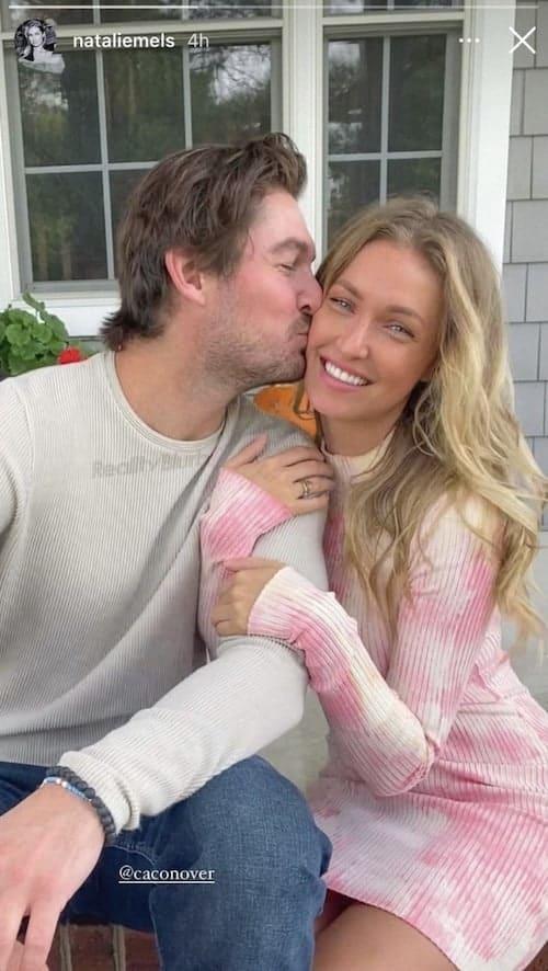 Southern Charm Craig Conover Kisses Girlfriend Natalie Hegnauer