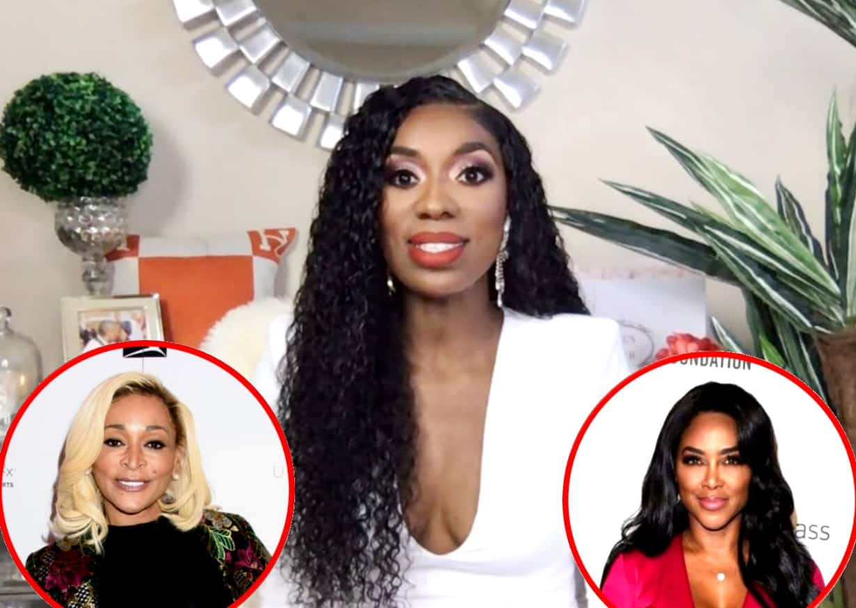 "Wendy Osefo Disses Karen Huger For Poor Treatment: ""She's On the Show Because of Her Husband,"" Plus She Reveals She Considered Quitting the RHOP and Shares Why RHOA's Kenya Moore Reaching Out to Her Meant the Most"