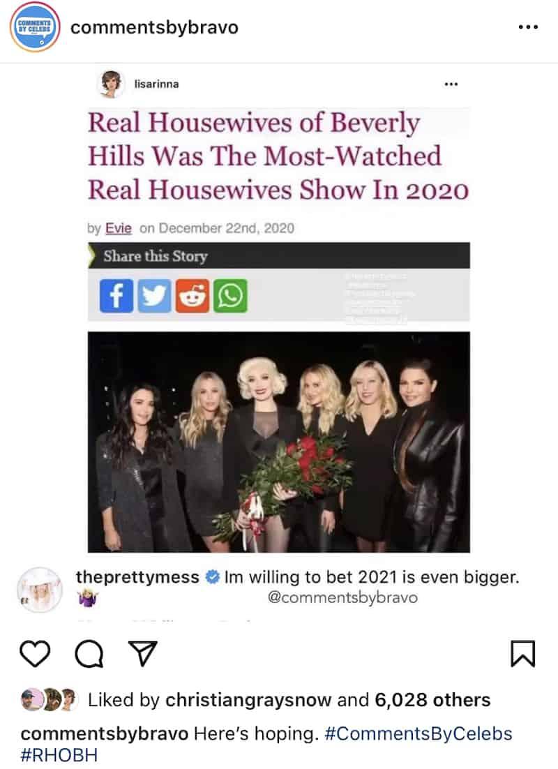 Erika Jayne Believes 2021 Will Bring HIgher RHOBH Ratings