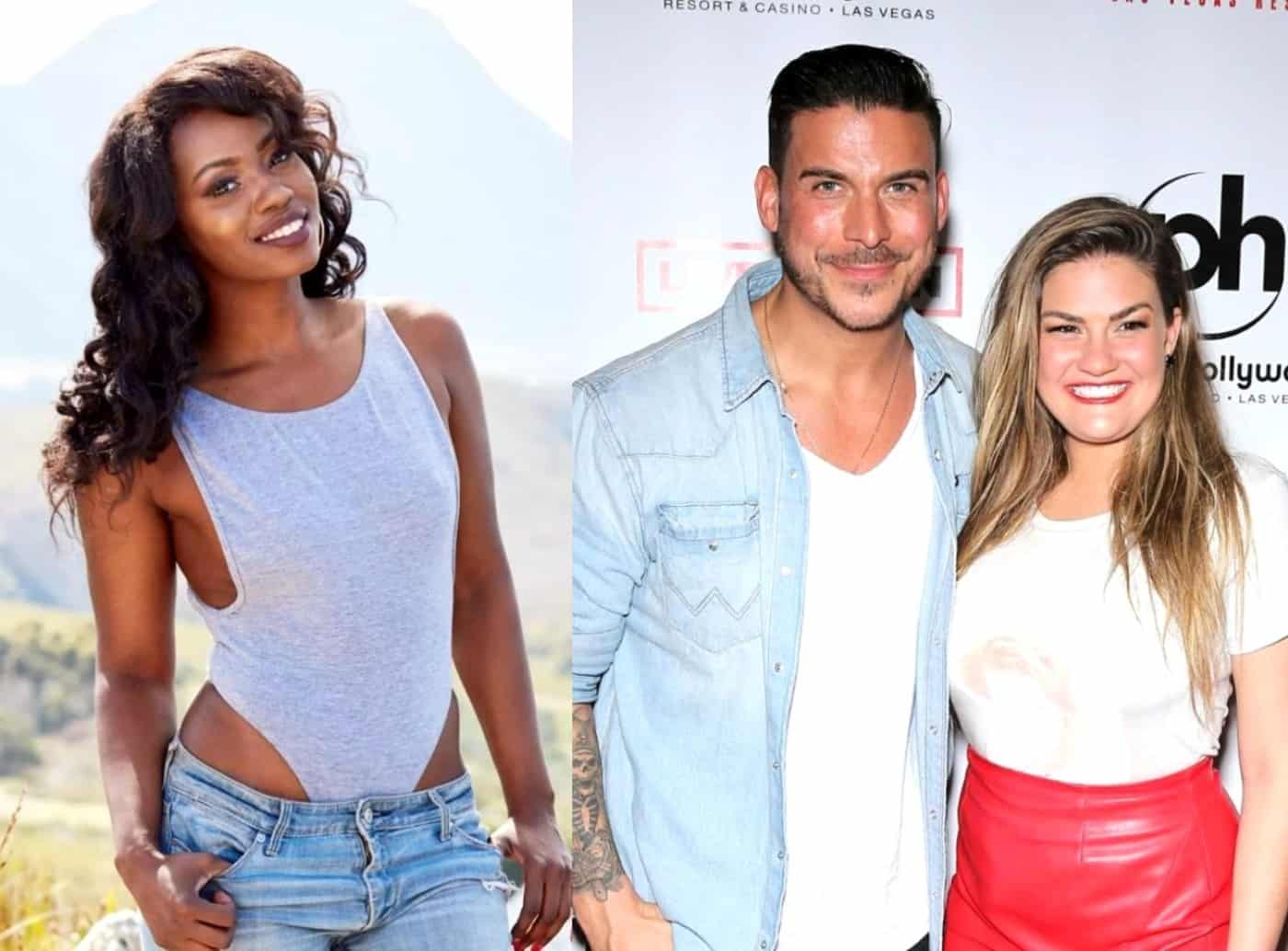 Faith Stowers Shades Jax Taylor After Reported Firing From Vanderpump Rules, Confirms Her New Show and Talks Brittany's Pregnancy