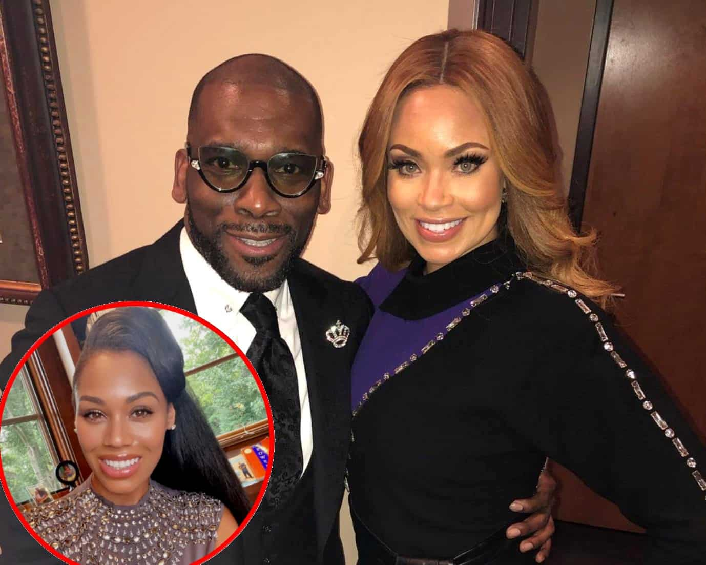 """Gizelle Bryant Shares Update on Relationship With Jamal Bryant Amid Cheating Rumors, Claims Monique Samuels' Allegations Were a """"Huge Deflection"""" From Her Behavior, Plus RHOP Reunion Live Viewing Thread!"""