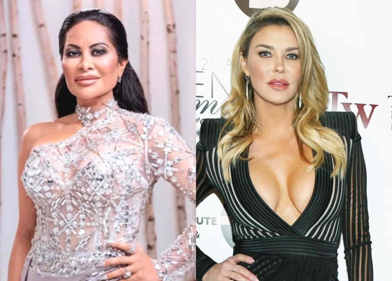 "RHOSLC's Jen Shah Lashes Out at Brandi Glanville in Profanity-Laced Rant While Jen's Co-Star Heather Gay Says Jen's Behavior Has Made Her Feel ""Sick"""