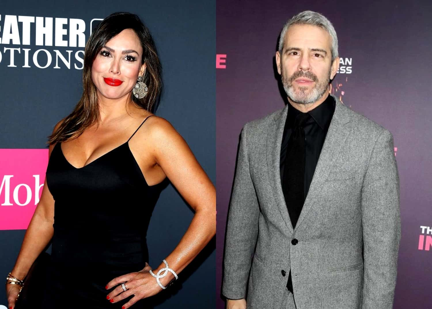 "'RHOC' Kelly Dodd Confronted by Andy Cohen Over Offensive ""Drunk Wives Matter"" Hat, COVID-19 Comments and Mom's ICU Stay as She Reacts to Him Telling Her ""Think Before You Post!"""