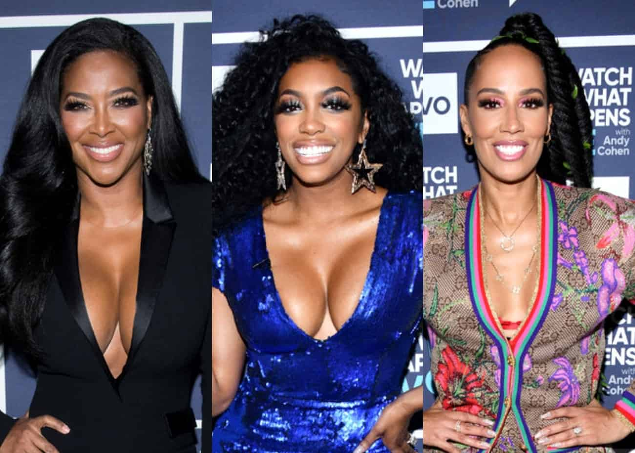 "RHOA's Tanya Sam and Porsha Williams Seemingly Respond to Kenya Moore's Claims That The Two Fell Out After StripperGate Scandal: ""Empowered Women Empower Women!"""