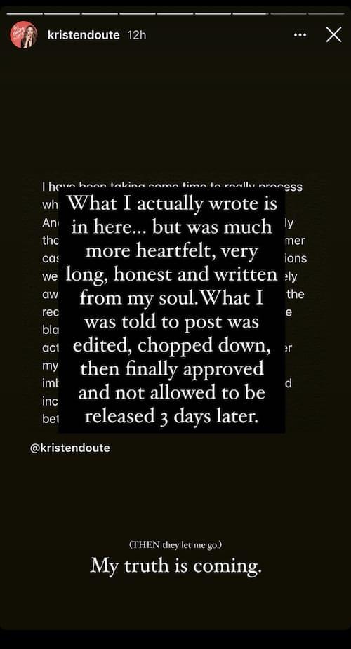 Kristen Doute Teases Original Pump Rules Exit Statement