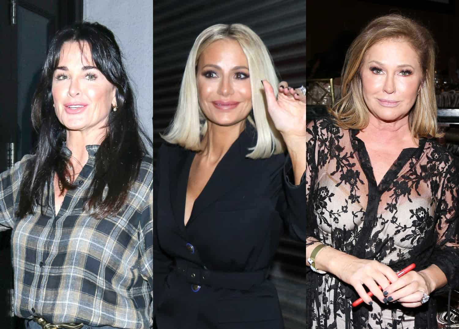 Kyle Richards and Dorit Kemsley Test Positive For Coronavirus Amid RHOBH Production Halt Kathy Hilton Also Contracts Virus as All Women Recovering From Symptoms
