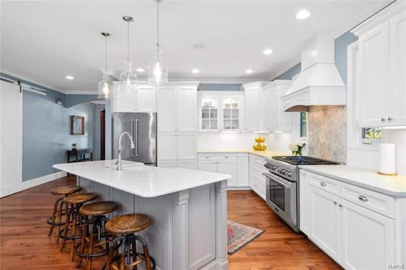 RHOC Meghan King Edmonds Kitchen
