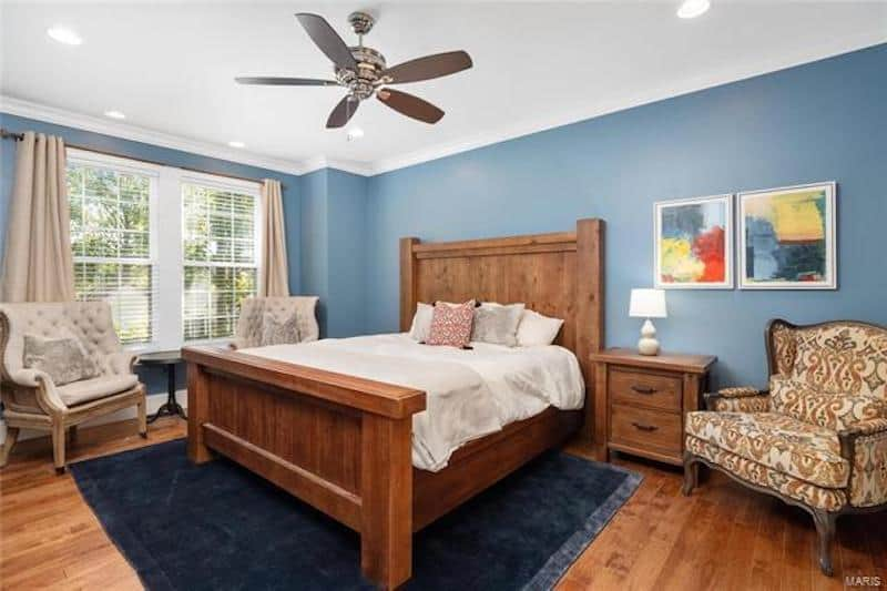 RHOC Meghan King Edmonds Master Bedroom