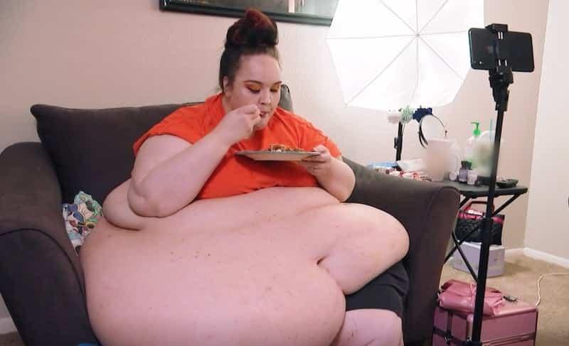 My 600 Lb Life Samantha Films Herself Eating