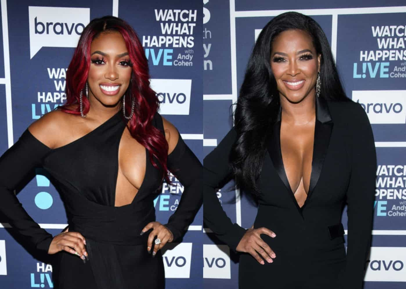 "RHOA's Porsha Williams Addresses Kenya Moore Questioning Her BLM Activism as Kenya Claps Back by Calling Porsha's Support ""Fake"" and Blasts Her For Defending RHOP's Monique After Violent Fight"