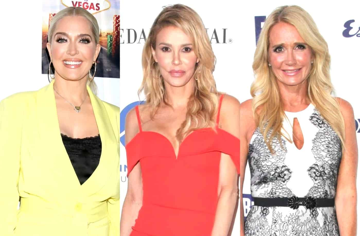 "RHOBH Insider On Why Erika Jayne's Divorce ""Isn't a Sham,"" Insists Alleged Hookup Between Brandi Glanville and Kim Richards ""Actually Happened"" as Brandi Issues New Denial"