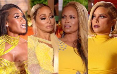 "VIDEO: Watch RHOP Reunion Trailer! Ashley and Gizelle are Confronted With Cheating Rumors About Their Men, Plus Candiace Walks Off Stage as Monique's Husband Chris Tells Her to ""Get Some Help"""