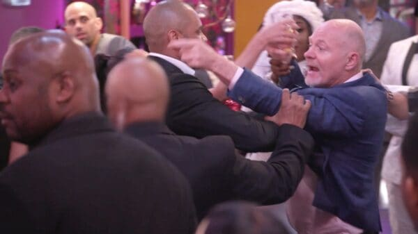 VIDEO: Chris Bassett and Michael Darby Get Into Physical Fight in RHOP Finale Sneak Peek as Michael Threatens to Press Charges, Plus Candiace and Ashley Face Off