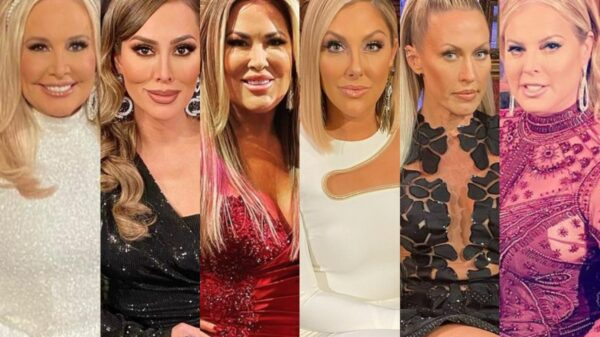 """PHOTOS: The RHOC Reunion Looks Are Here! Get the Details of Every Knockout Dress as Braunwyn and Emily Confirm They Brought Receipts, Plus Andy Shares Excitement For """"In Person"""" Special"""