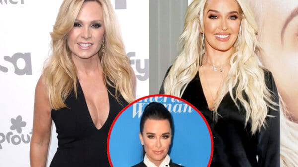 "RHOC's Tamra Judge Says Erika Jayne is ""In Trouble"" and Reacts to Her Cheating Claims Against Husband Tom, Plus She Shares Thoughts On Kyle Richards' ""Vile"" Label and Gushes Over Dorit"