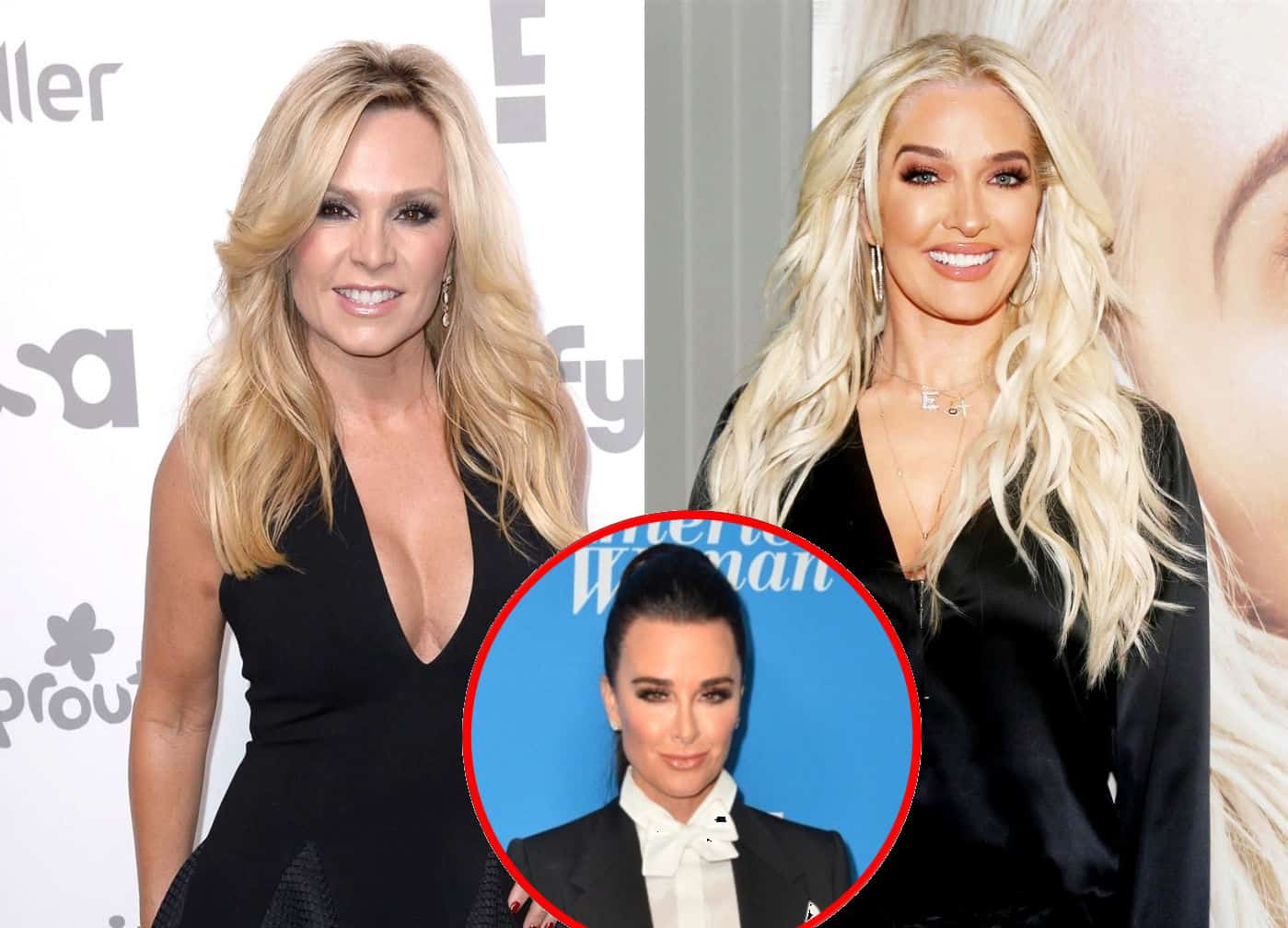 """RHOC's Tamra Judge Says Erika Jayne is """"In Trouble"""" and Reacts to Her Cheating Claims Against Husband Tom, Plus She Shares Thoughts On Kyle Richards' """"Vile"""" Label and Gushes Over Dorit"""