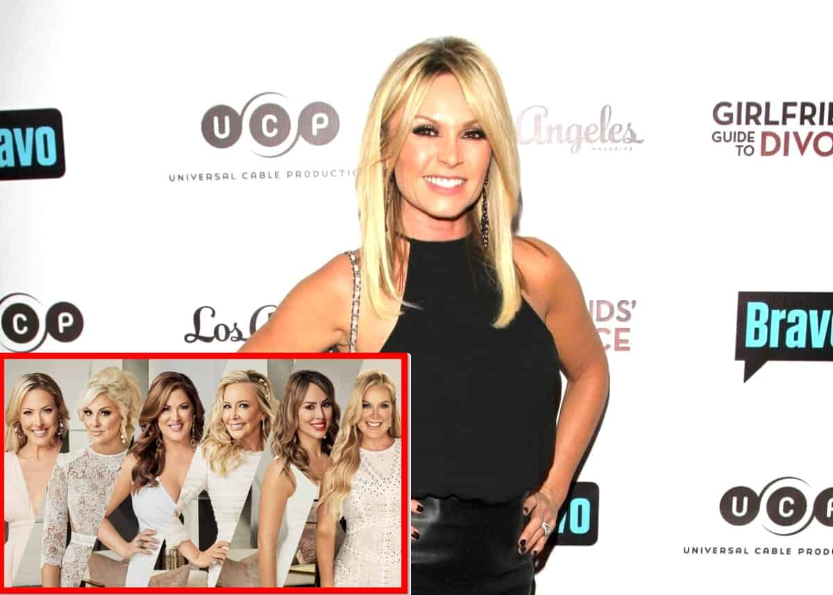 "Tamra Judge Claims Shannon Beador Has Drinking Problem and Shares Who Should Be Fired on RHOC, Says Braunwyn Shouldn't Have a Girlfriend and That Andy May Make an ""Example"" Out of Kelly"