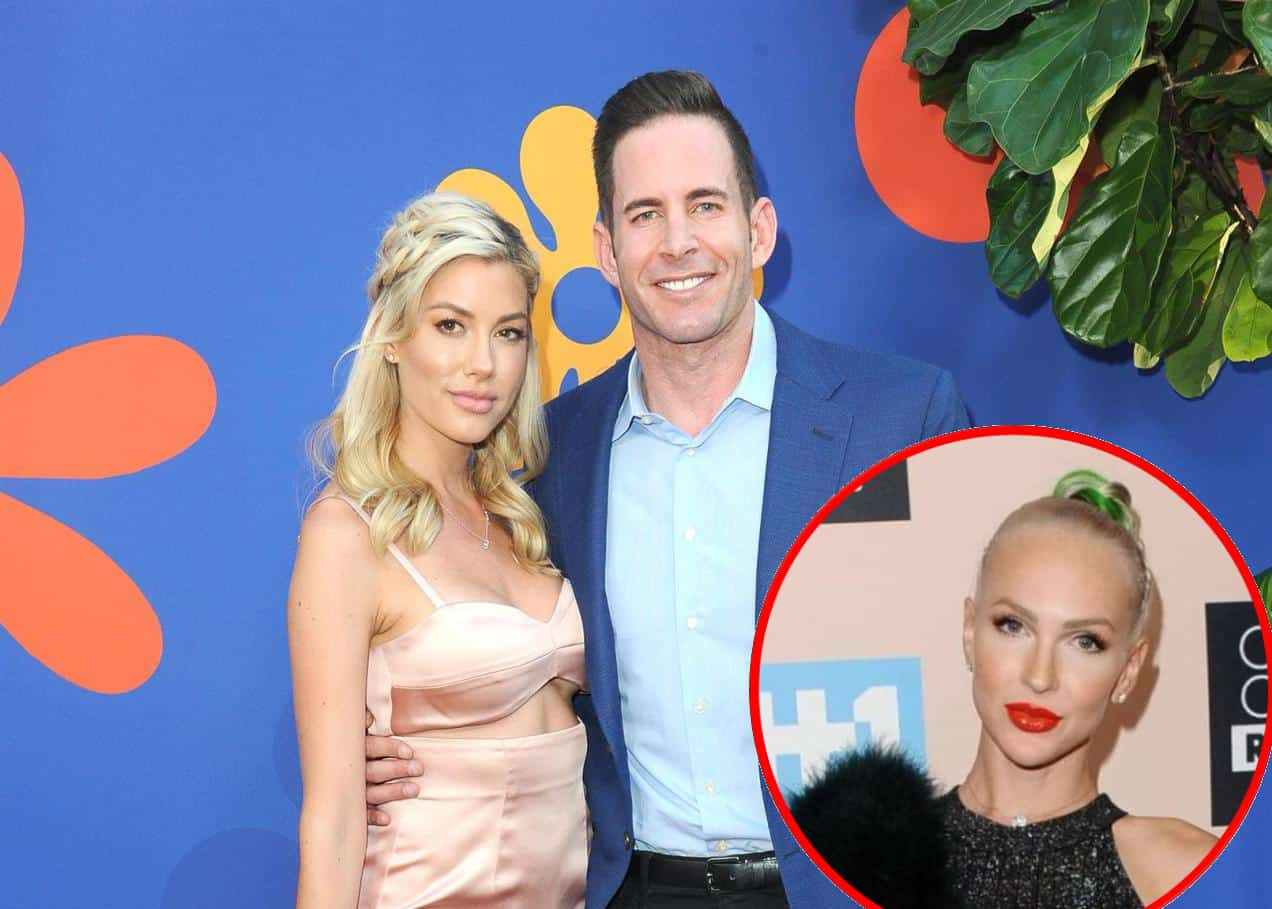 "Flip or Flop's Tarek El Moussa Reacts to Brett Oppenheim Flirting With Fiancée Heather Rae Young, Plus He Slams Heather's Selling Sunset Co-Star Christine Quinn For Spencer Pratt and Heidi Montag Comparison: ""It Just Makes Her Look Stupid"""