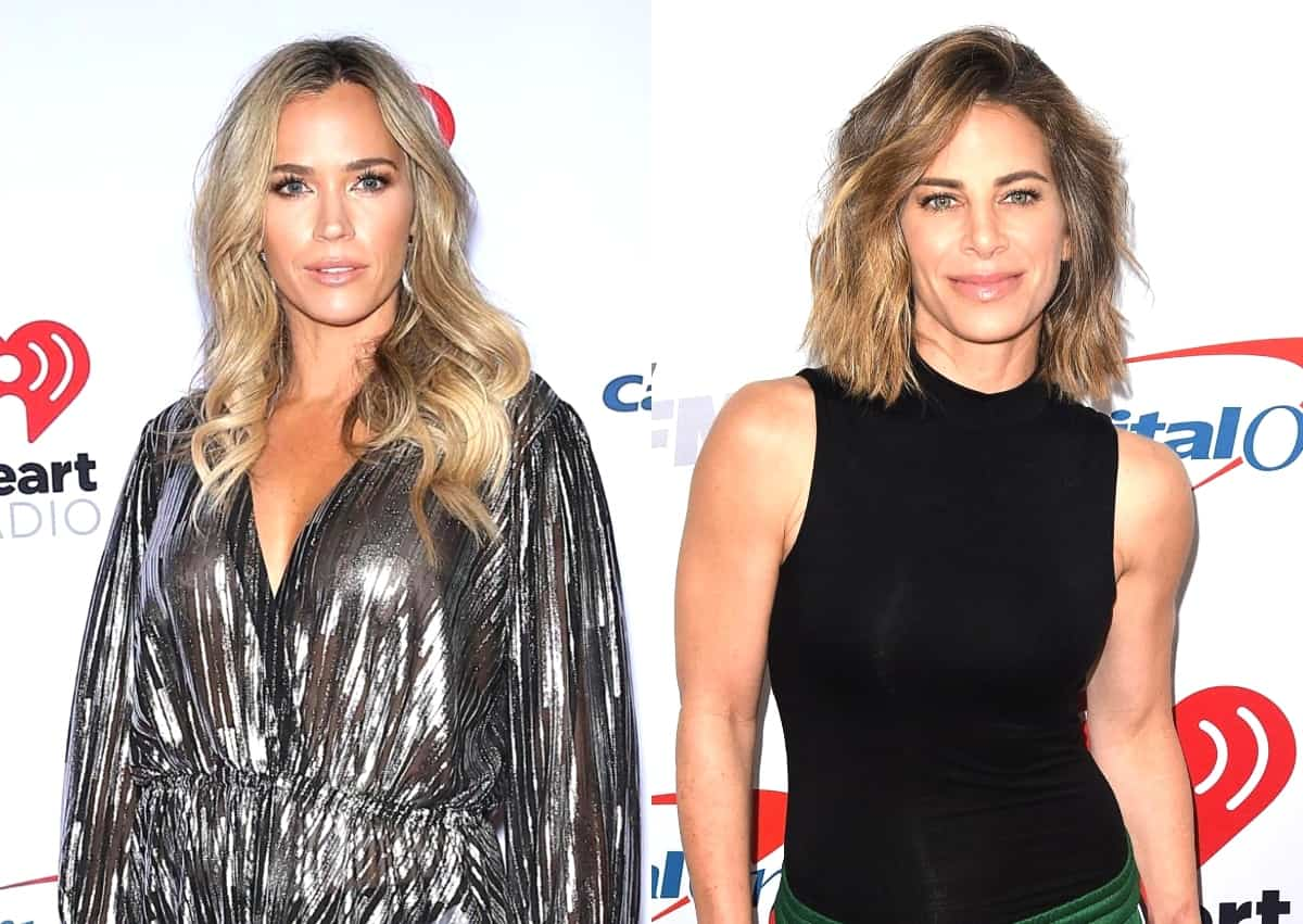 "RHOBH Alum Teddi Mellencamp Confronts Jillian Michaels On Podcast After Fitness Expert Told Her to ""Stay in Her Lane"" as Teddi Confirms They Both Have the Same Certifications"