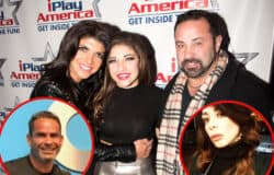 "Gia Giudice Reacts to Mom Teresa Giudice's New Boyfriend Luis Ruelas, Plus RHONJ Alum Joe Giudice Shares Pic of New Flame Daniela Fittipaldi as Sources Reveal How She ""Bonded"" With His Daughters"
