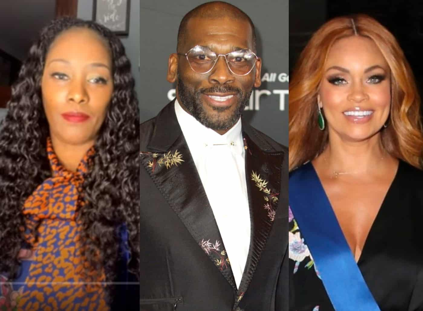 """Jamal Bryant's Ex Tunya Griffin Leaks Text Messages and Talks 8-Yr Romance With RHOP Star, Applauds Monique as """"Class Act"""" and Shares if She's Spoken to Gizelle's Ex-Husband Since Reunion"""