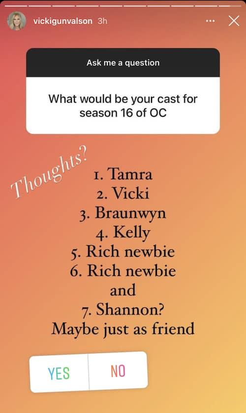 VIcki Gunvalson Reveals Potential RHOC Season 16 Cast