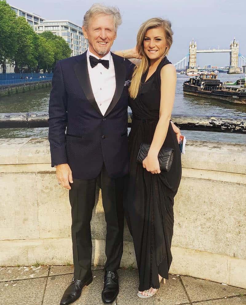Bernt Bodal and Michelle Fox Enjoy London