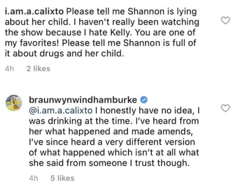RHOC Braunwyn Windham-Burke Claims She Was Drinking When Accused of Offering Cocaine to Shannon Beador's Daughter
