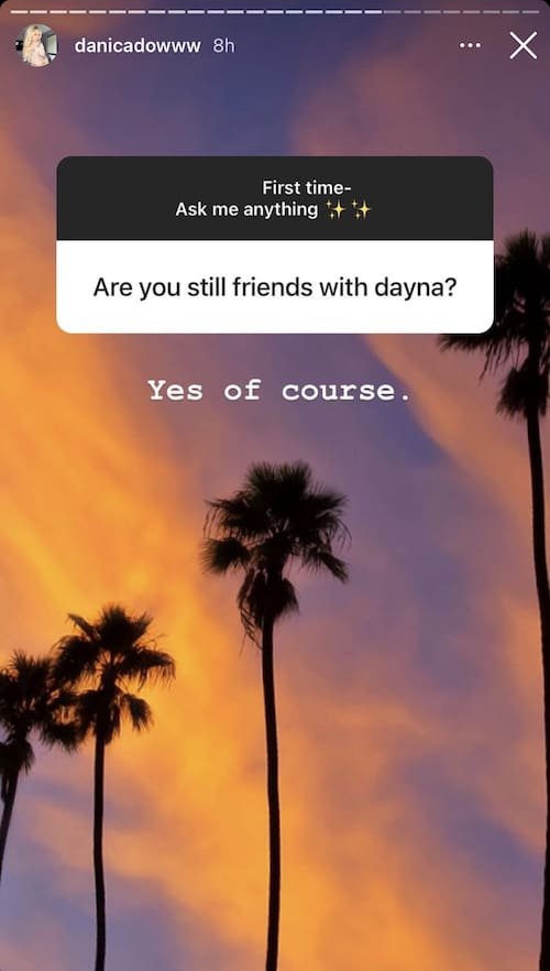 Vanderpump Rules Danica Dow Confirms She's Still Friends With Dayna Kathan