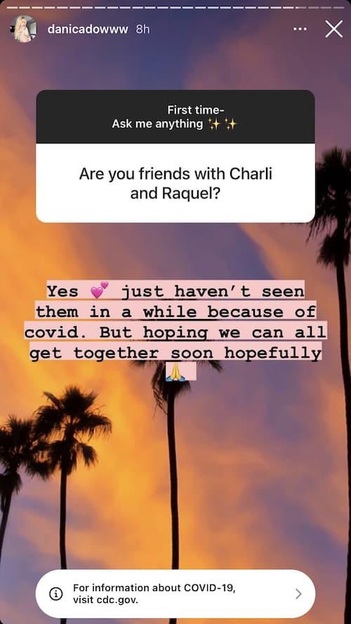 Vanderpump Rules Danica Dow Talks Charli Burnett and Raquel Leviss Friendships