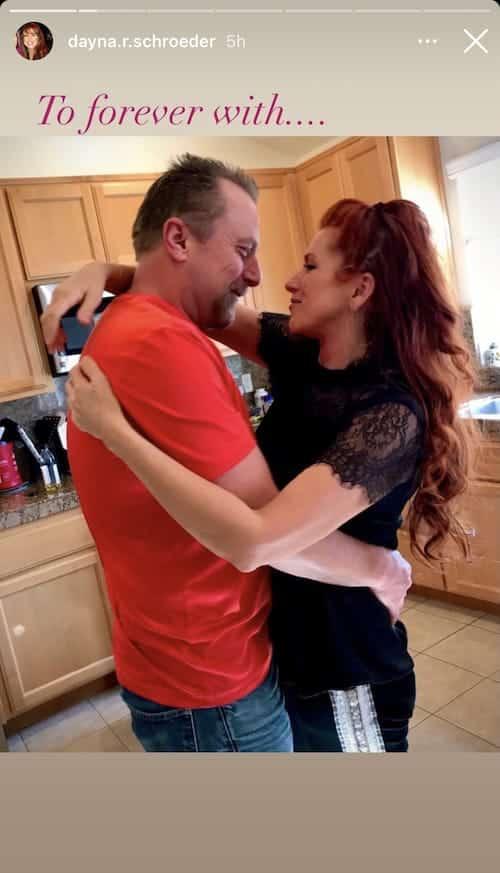 Vanderpump Rules Dayna Schroeder Hugs Fiance Eric