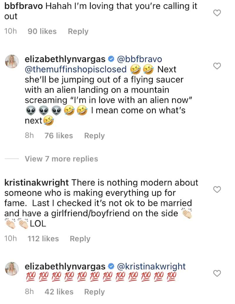 RHOC Elizabeth Vargas Believes Braunwyn Windham-Burke is Lying for Fame
