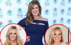 "RHOC Star Emily Simpson Disses Tamra Judge, Says She Needs a ""Wellness Check,"" and Offers an Update on Relationship With Newbie Elizabeth Vargas"