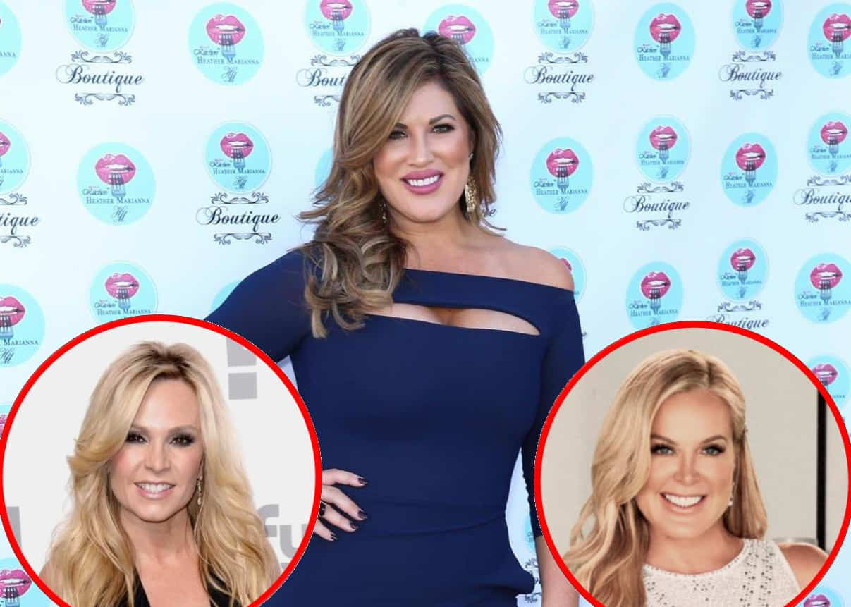 """RHOC Star Emily Simpson Claims Tamra Judge Needs a """"Wellness Check"""" And Offers An Update On Relationship With Newbie Elizabeth Vargas"""