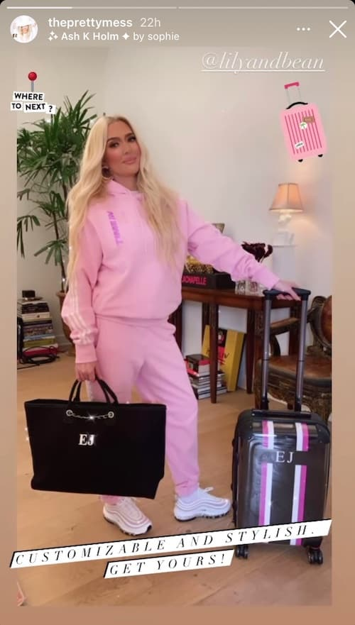 RHOBH Erika Jayne Offers Discount on Bags Amid Divorce