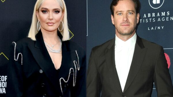 "RHOBH's Erika Jayne May Be Living Next Door to ""Cannibal"" Actor Armie Hammer, Did He Share a Nude Photo of Her on His Instagram Page and Claim She ""Slid in to [His] DMs?"" See the Potential Post!"