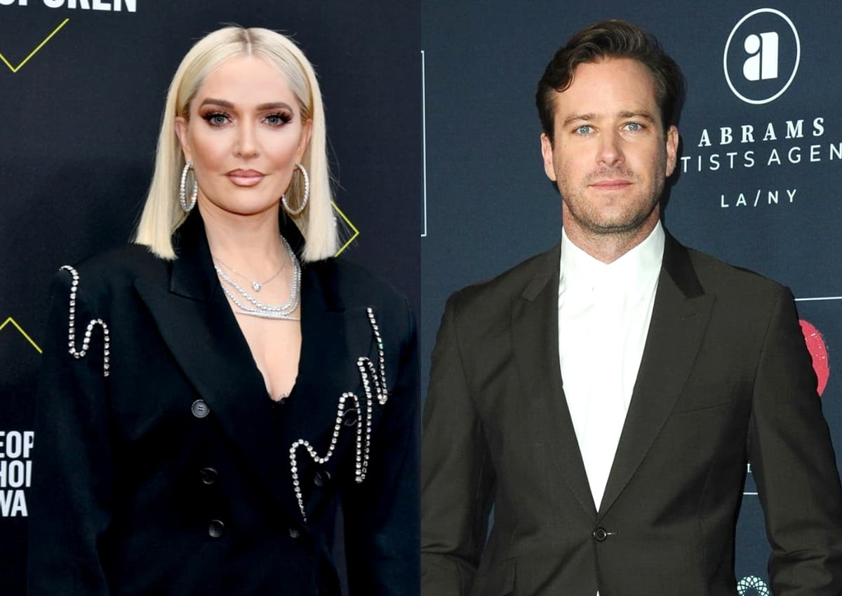 """RHOBH's Erika Jayne May Be Living Next Door to """"Cannibal"""" Actor Armie Hammer, Did He Share a Nude Photo of Her on His Instagram Page and Claim She """"Slid in to [His] DMs?"""" See the Potential Post!"""
