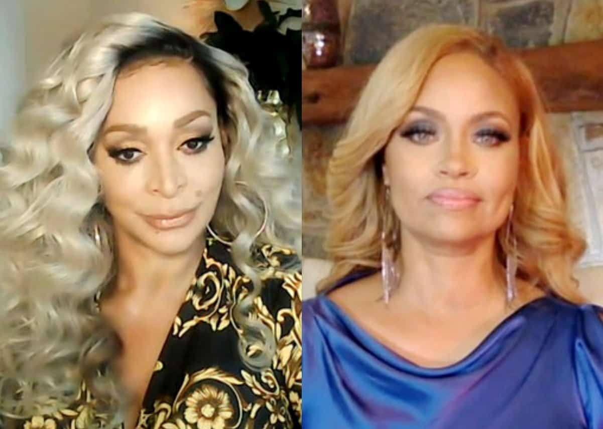 "RHOP's Karen Huger Calls Out Gizelle Bryant After Being Labeled an Obsessed ""Stalker"" and Accused of Driving By Her Home, Tells Her to Lay of the Wine and Slams Her as ""Delusional"""