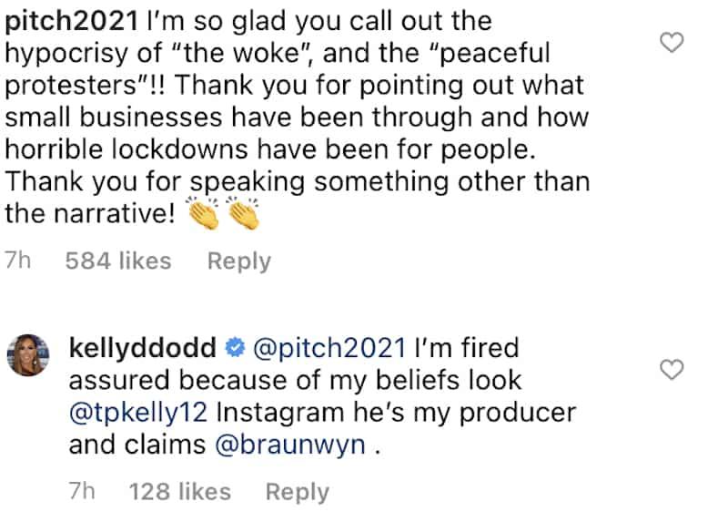 Kelly Dodd accuses RHOC producer of favoriteism