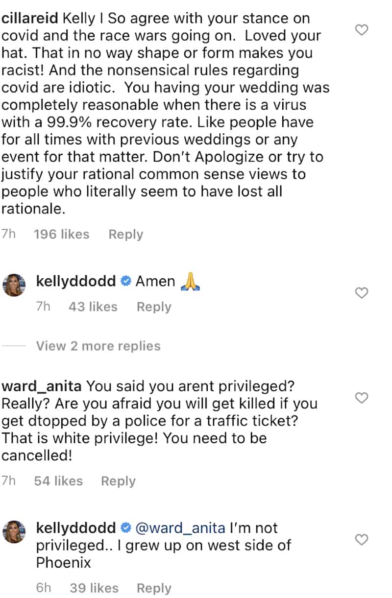 RHOC Kelly Dodd Denies Being Privileged
