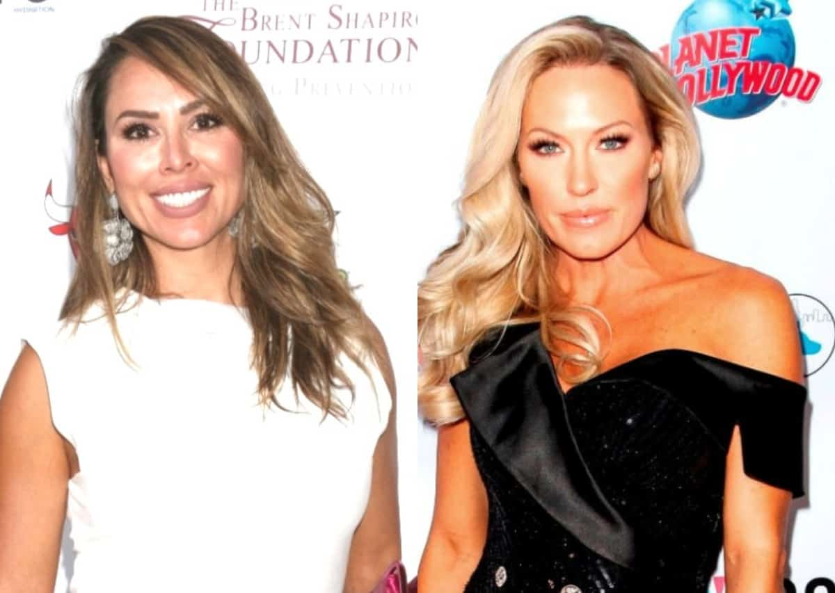Kelly Dodd Accuses Braunwyn of Staging Photos With Sean at Sex Shop to Promote WWHL Appearance, Plus RHOC Fans and Emily Simpson React