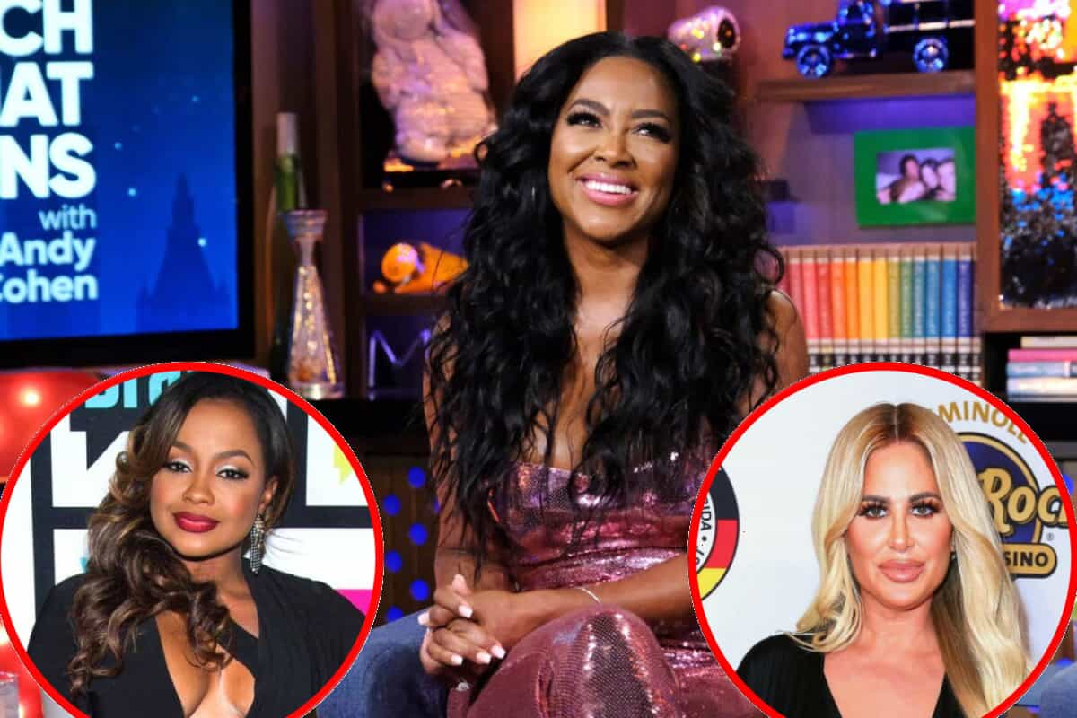 """RHOA's Kenya Moore Reveals Regret About Feud With Phaedra Parks, Talks Sherri Shepherd and Vivica A. Fox Drama, and Doubles Down on """"Duck Lips"""" Comment About Kim Zolciak"""