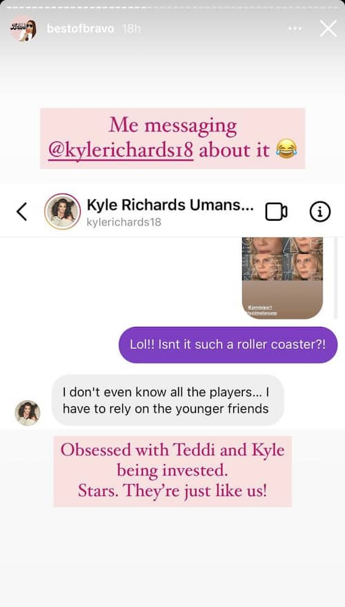 RHOBH Kyle Richards Gets Invested in Madison LeCroy Drama